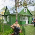 [:lt]Žaliasis B. Buivydaitės namas-muziejus Anykščių senamiestyje.[:en] [:ru]