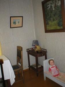 Žukauskų namų vaikų kambaryje.