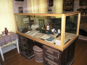 A. Vienuolio darbo stalas.
