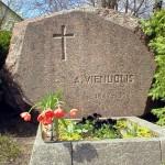 [:lt]A. Vienuolio kapas sodyboje.[:en] [:ru]