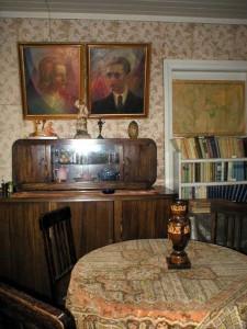 A. Vienuolio darbo kambarys.