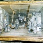 [:lt]Senąją trobą primena Jono Tvardausko medžio drožinys.[:en] [:ru]